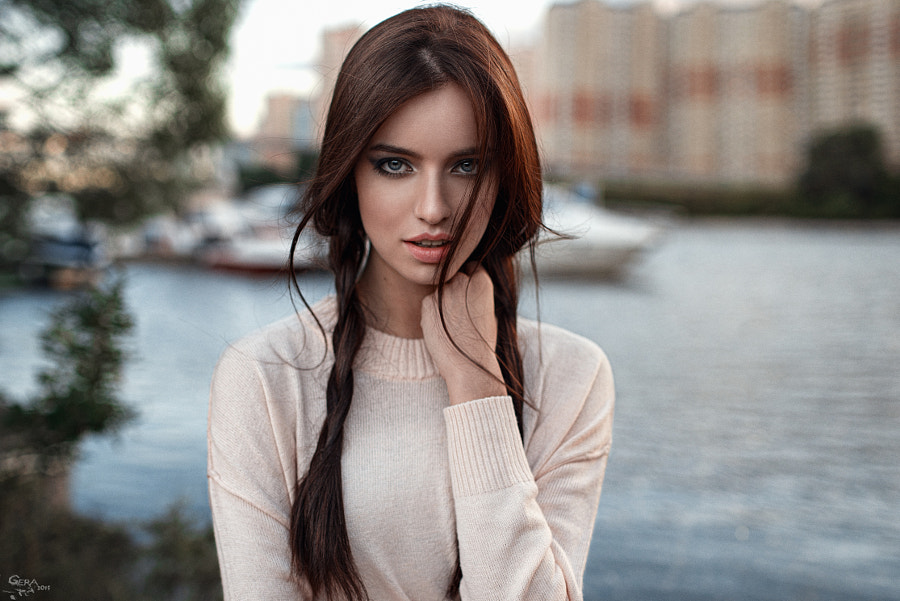 Russian beauty Anastasia by ???????  ????????? (Georgiy Chernyadyev) on 500px.com