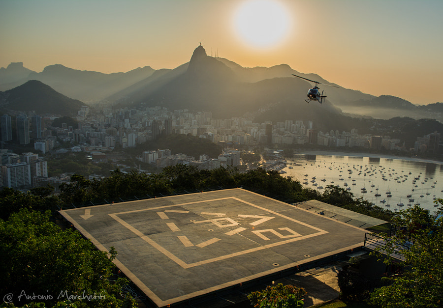 Landing on Sugarloaf by Antonio Marchetti on 500px.com