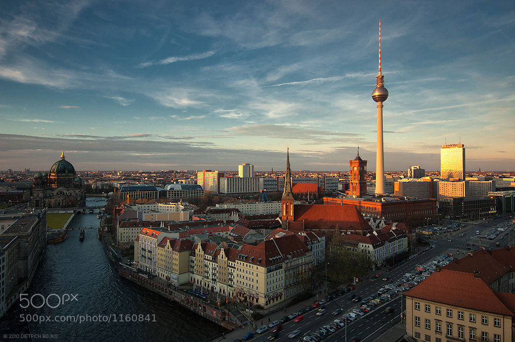 Photograph Berlin Skyline by Dietrich Bojko on 500px