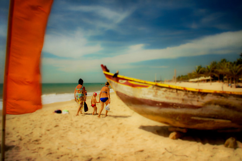 Photograph Vietnam. Muine. On the beach 1 by Gilles Marcil on 500px