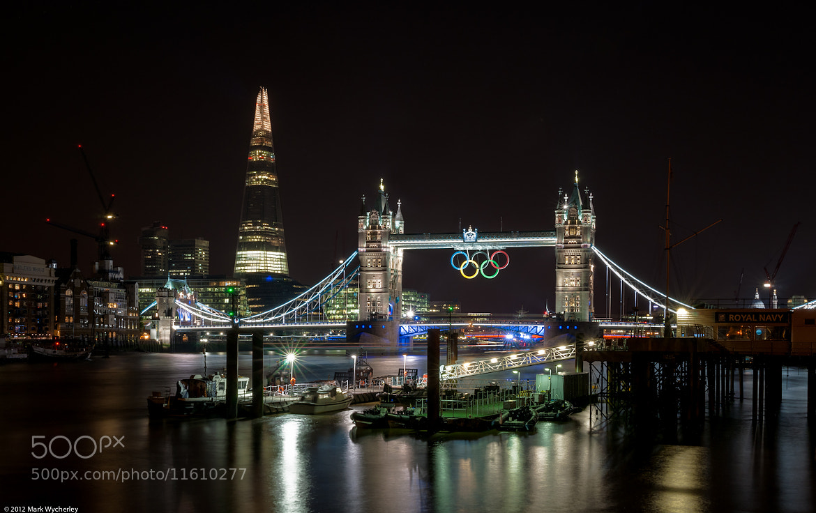 Photograph Tower Bridge & The Shard by Mark Wycherley on 500px