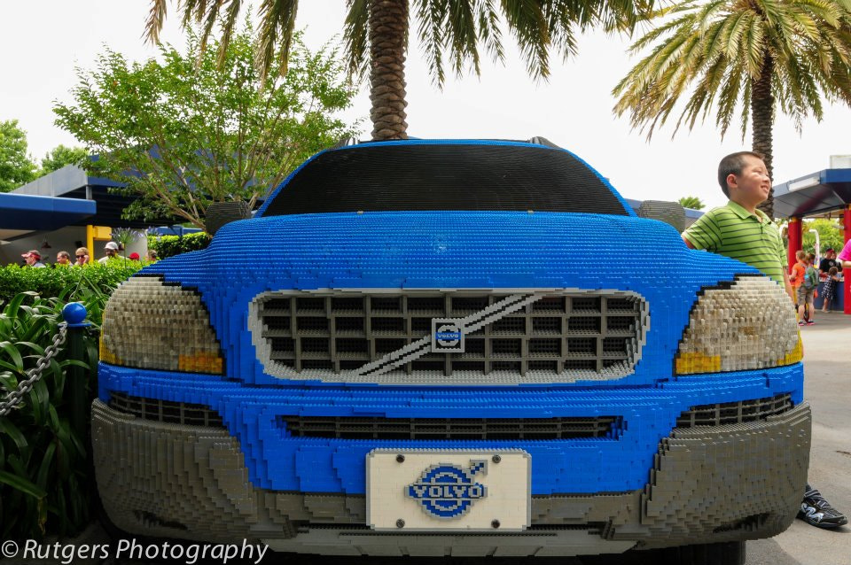 Photograph Volvo - made of Lego? by Ian Rutgers on 500px