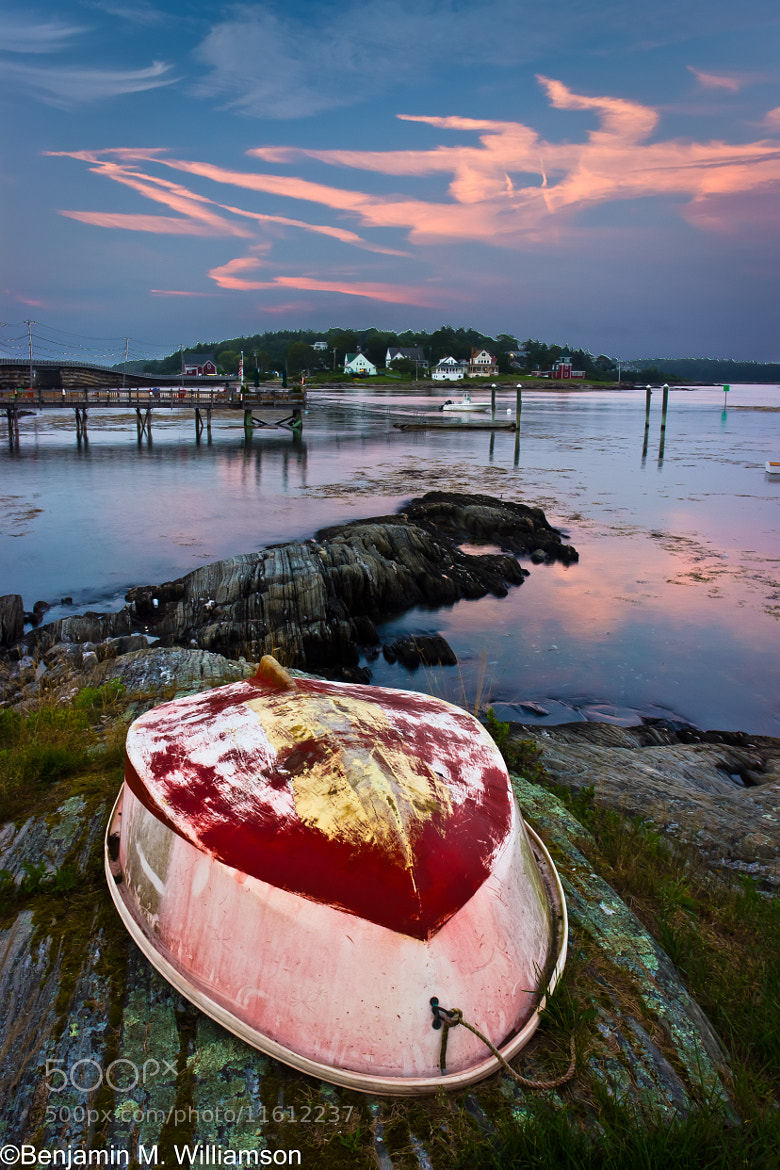 Photograph Summer Nights on Bailey Island by Benjamin Williamson on 500px