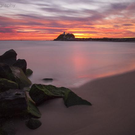 Horseshoe beach sunrise