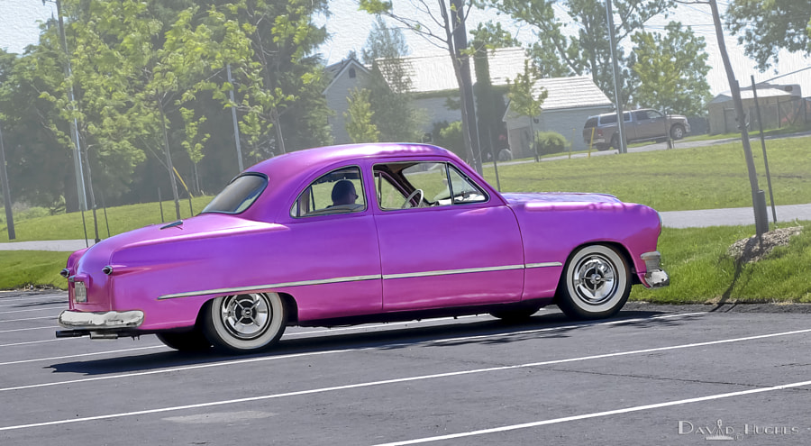 1950 Ford Coupe Custom