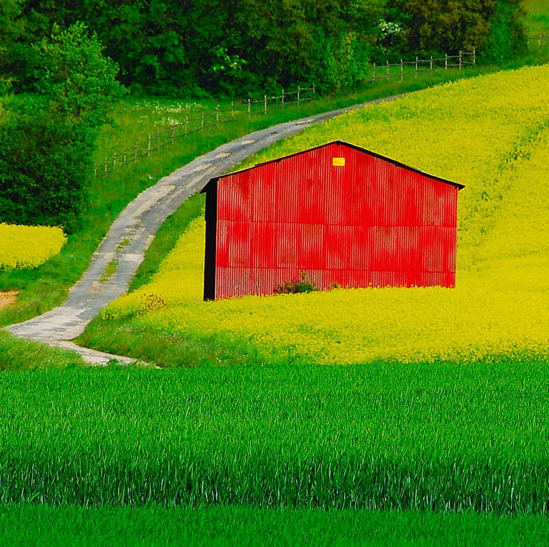 Photograph The red shelter by LAI Anne-Marie on 500px