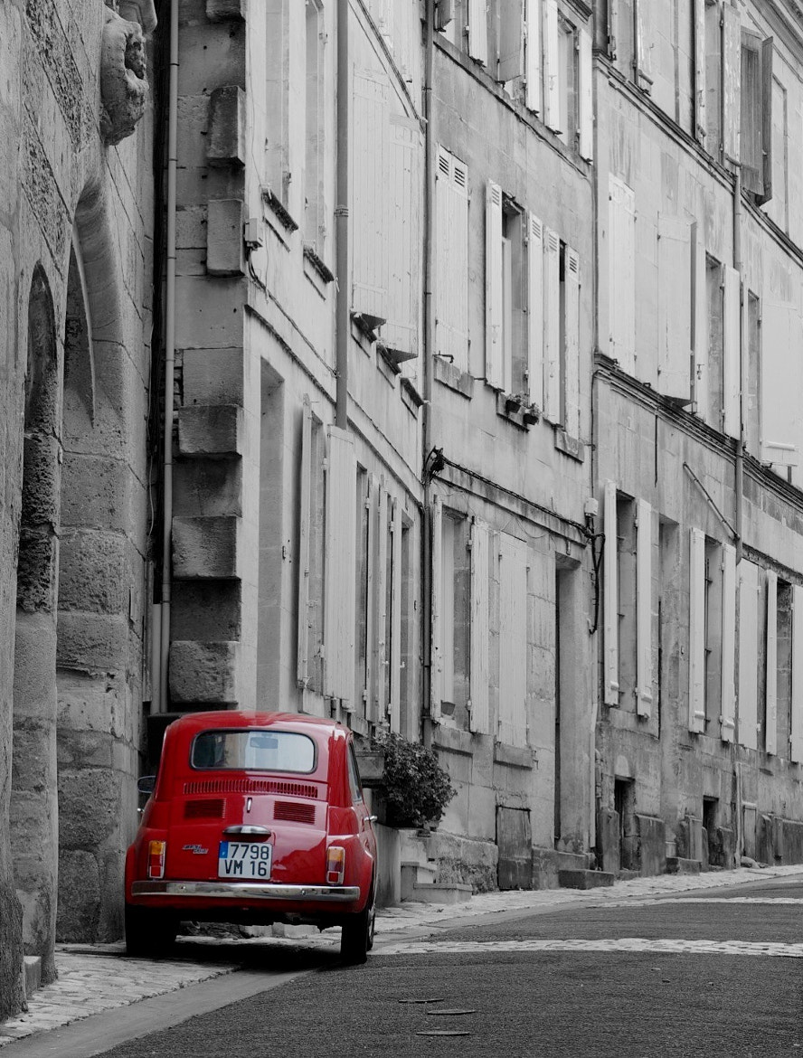 Photograph The red car by Wilfried Schreder on 500px