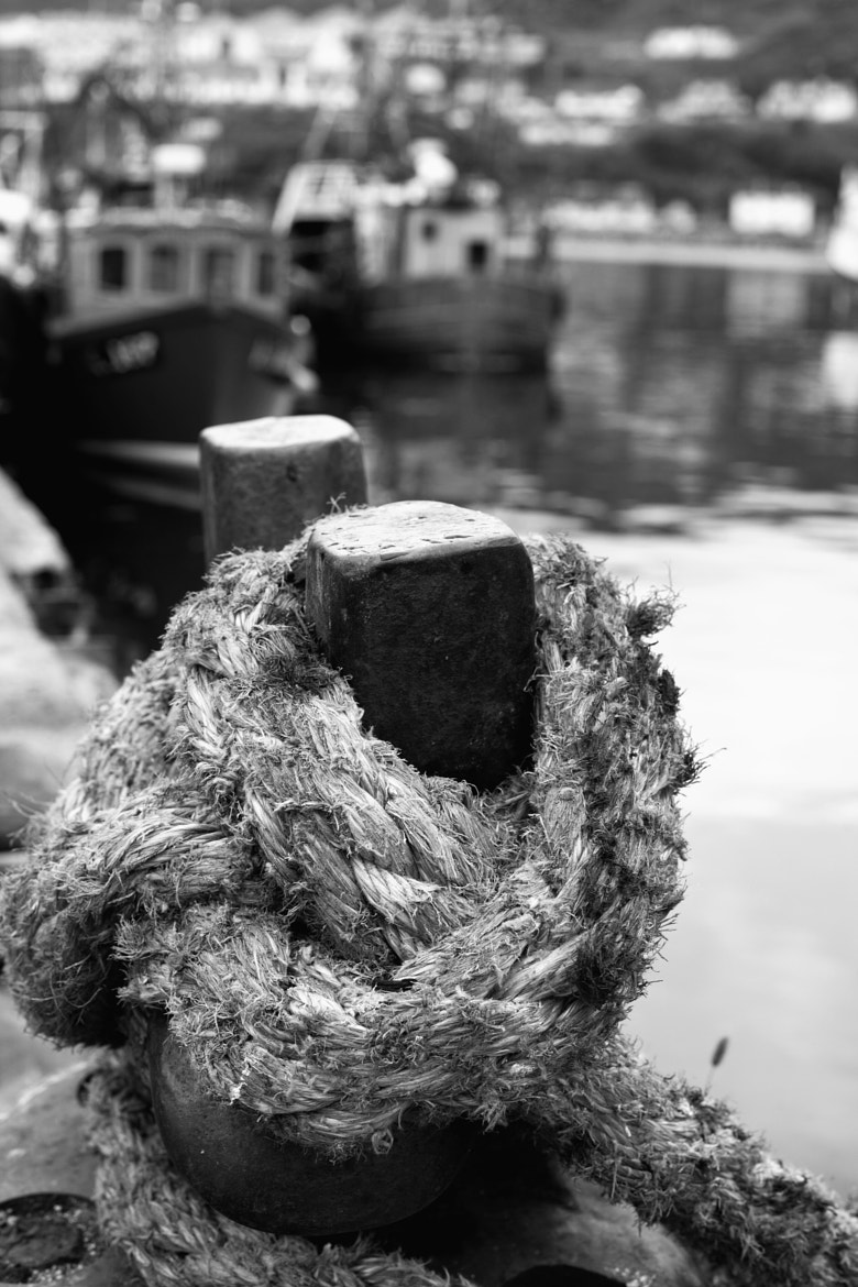 Photograph The Harbour Rope by Mark Andrews on 500px