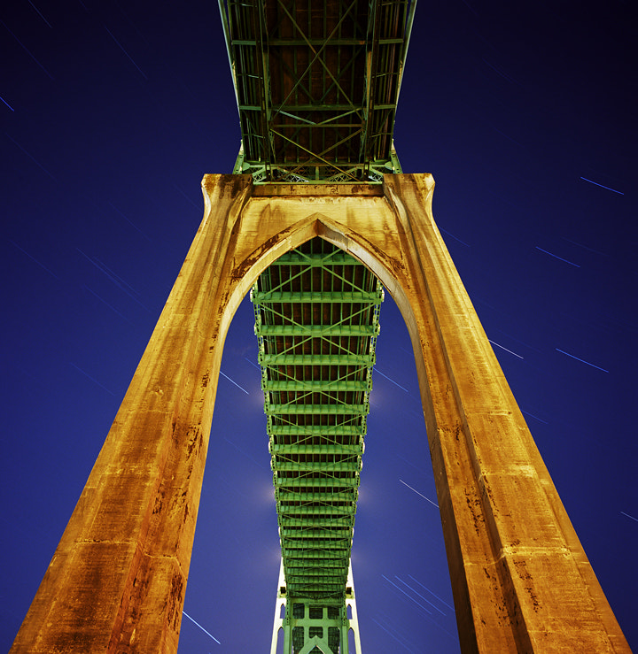 Photograph The St. Johns Bridge by Zeb Andrews on 500px