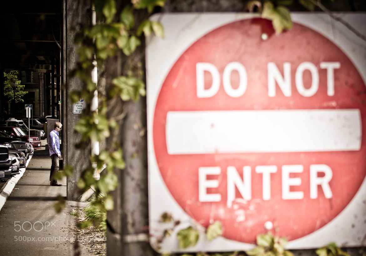 Photograph Hey, read the sign! by Kevin Rank on 500px