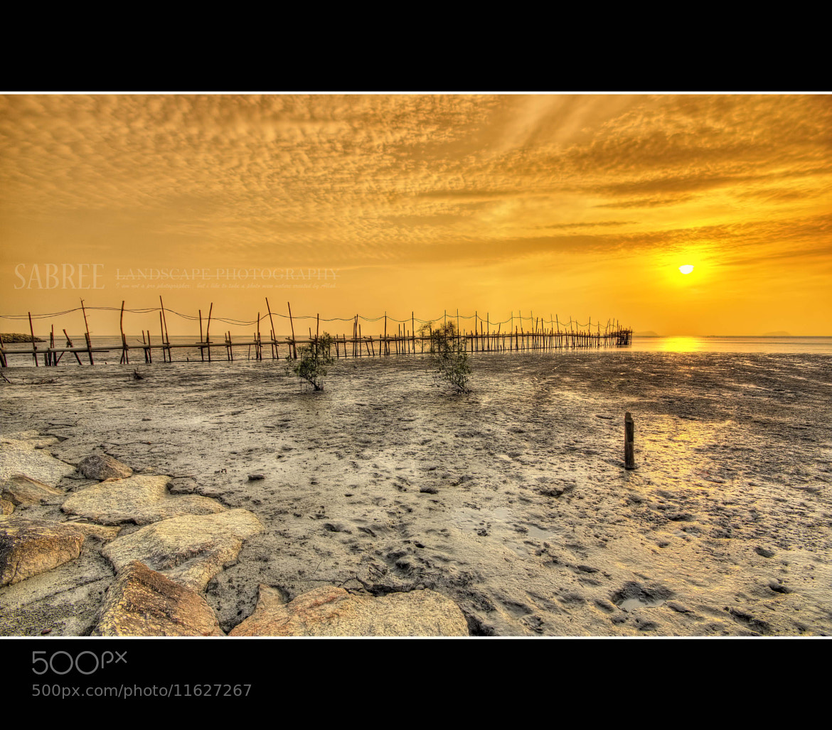 Photograph Sunset at Kg Singkir Laut by Mohd  Sabree  on 500px