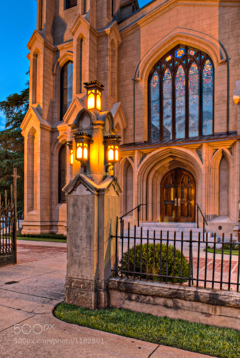 Photograph Trinity Cathedral Entrance by David Baker on 500px