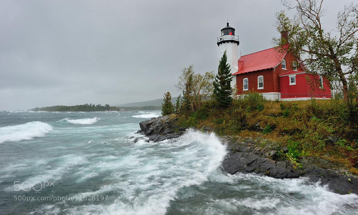 "Photograph ""Witch of September"" Eagle Harbor Lighthouse  by John McCormick on 500px"