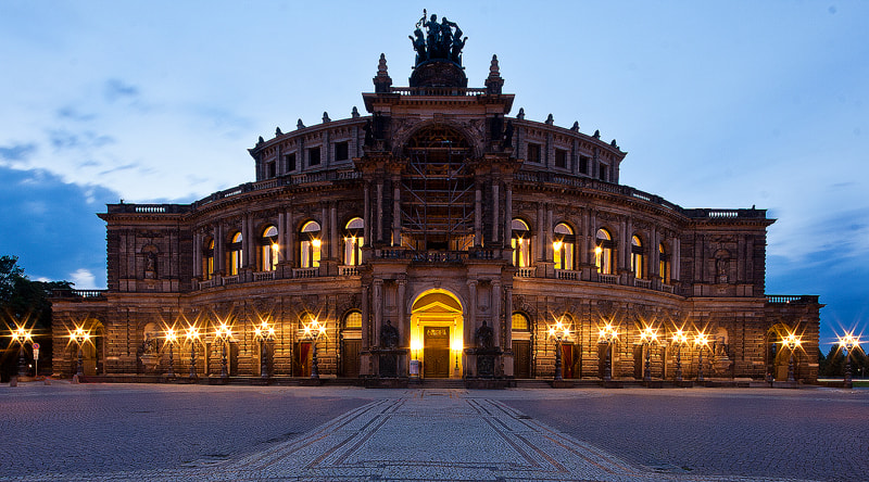 Photograph Semperoper Dresden by Nick Bell on 500px