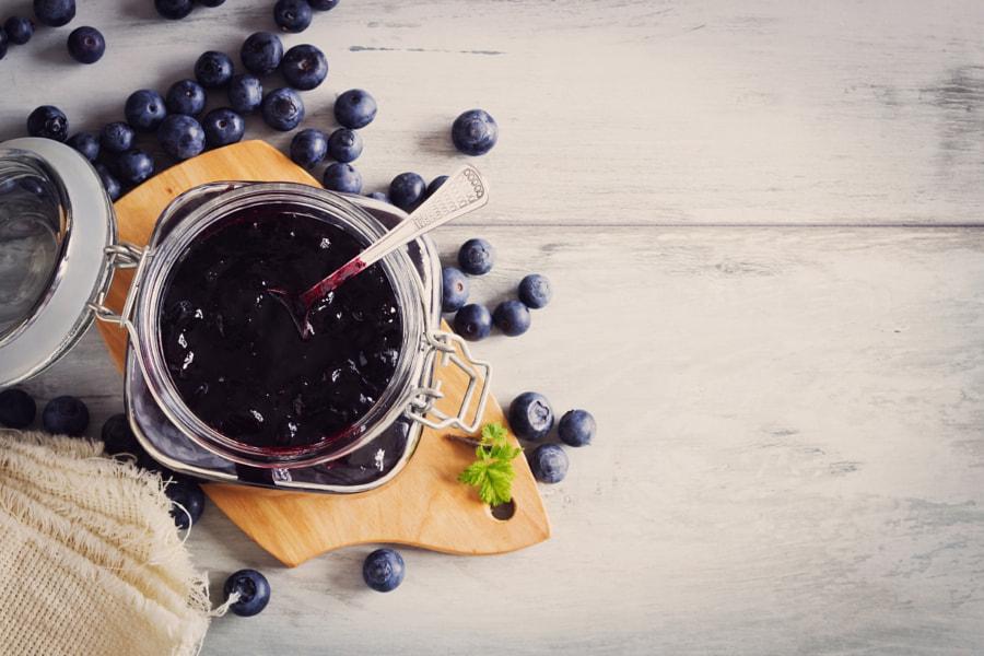 homemade blueberry jam by Jevgeni Proshin on 500px.com