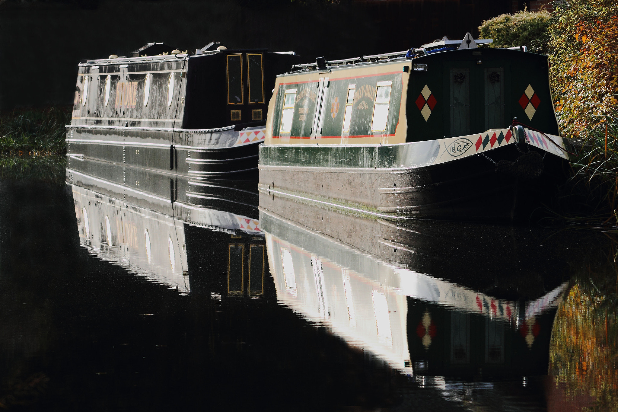 Photograph Narrow Boats by Steve Adams on 500px