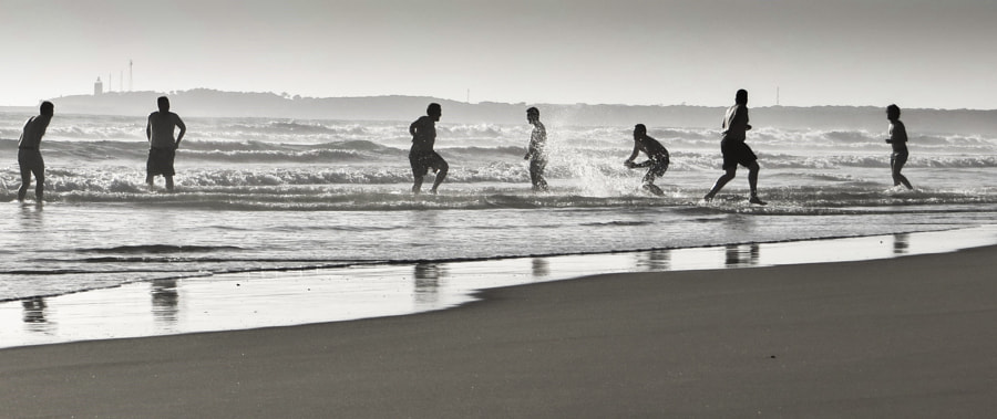 Fun at the Beach by Andrea Beisswenger on 500px.com