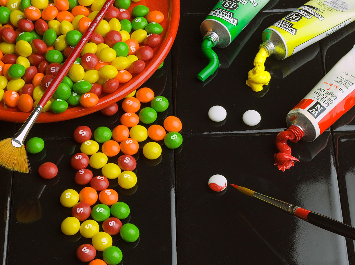 Photograph Painting Skittles by Latent Vision on 500px