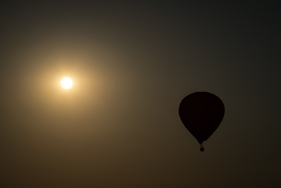 Photograph balloon to the sun by Kermo on 500px