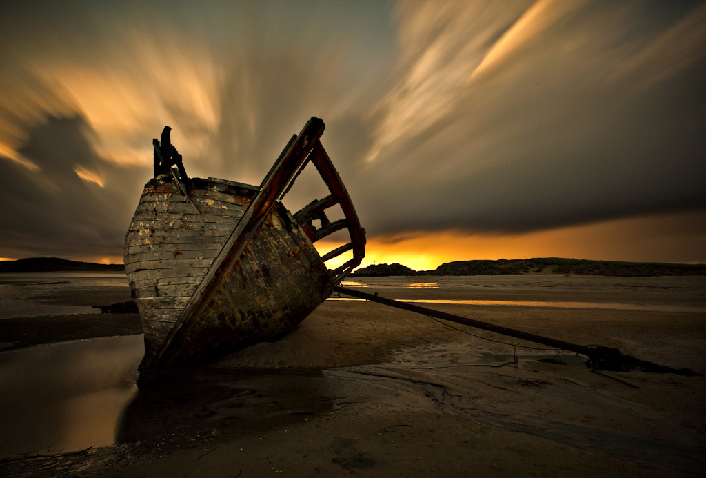 Photograph Eddie's Boat by Alastair Stockman on 500px