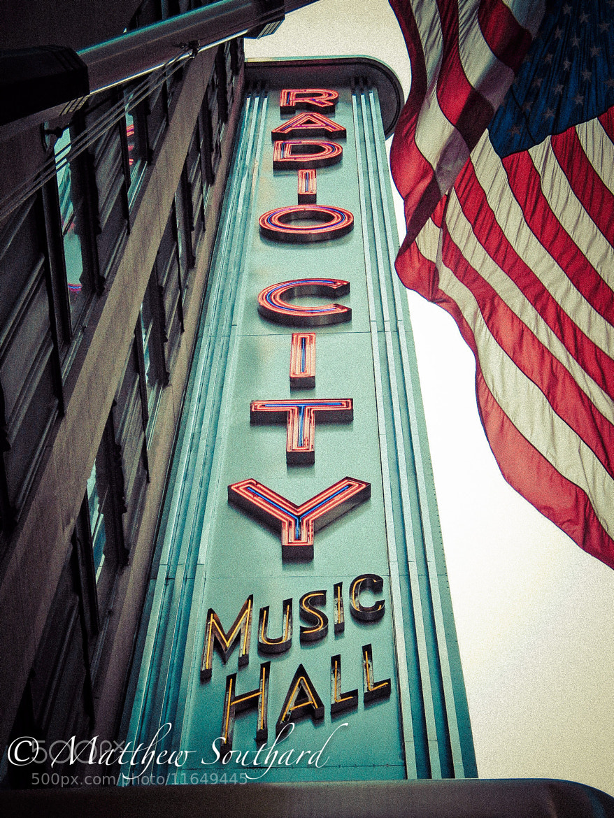 Photograph Vintage Radio City by Matthew Southard on 500px