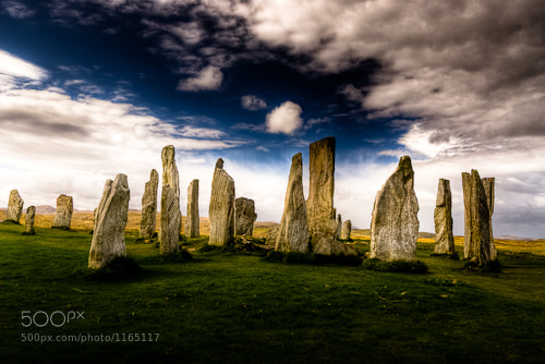 Photograph Standing Stones of the Isle of Lewis by Richard  on 500px