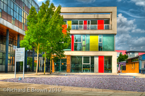 Photograph Lincoln University in Colour by Richard  on 500px