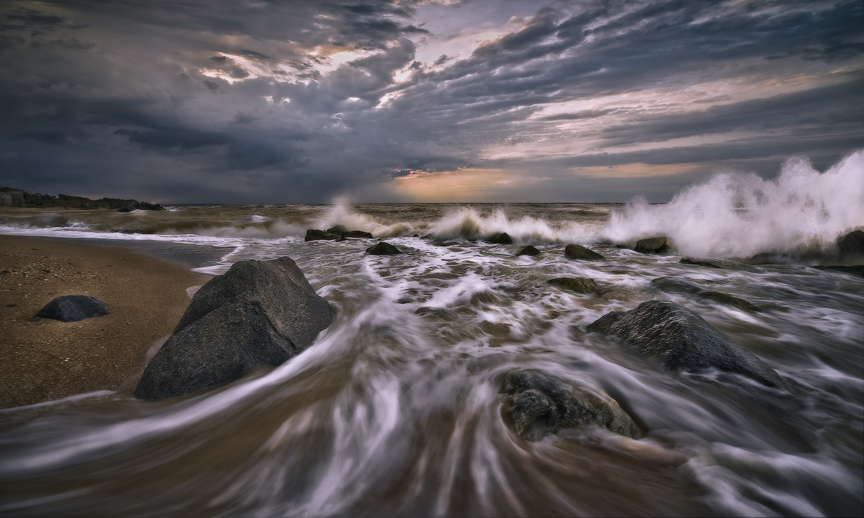 Photograph When the sea was angry by Vadim Shevchenko on 500px