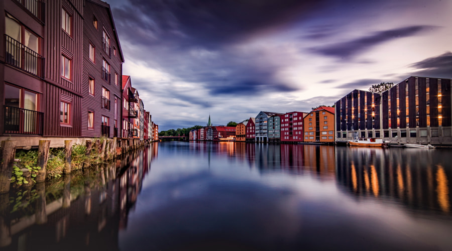 Trondheim In Blue Hours! by Aziz Nasuti on 500px.com