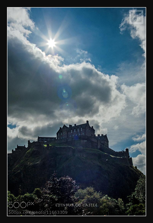 Photograph Edinburgh Castle by Zain Kapasi on 500px