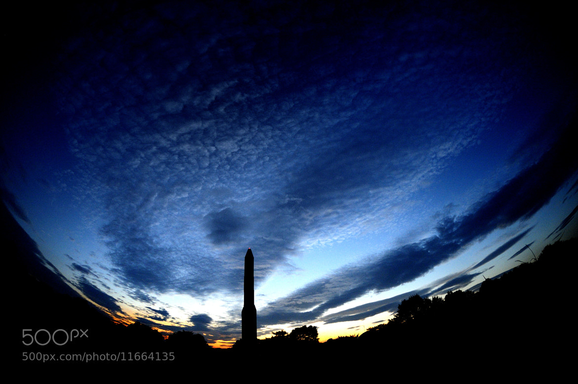 Photograph The Rocket & The Sunset by Michael Martin on 500px