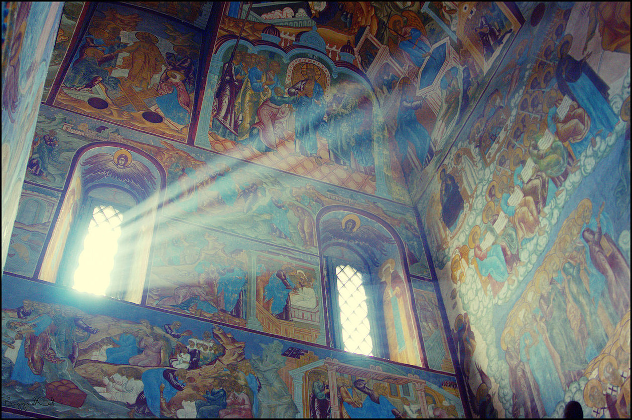 Photograph in church by Marina Chirkova on 500px