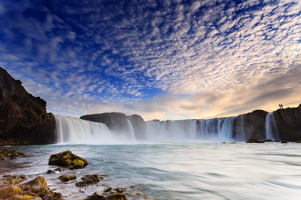 Photograph Godafoss's lovers II by Vincent BOURRUT on 500px