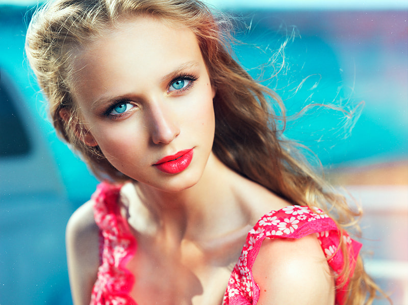 Photograph Sea in her eyes by Vladimir Zotov on 500px