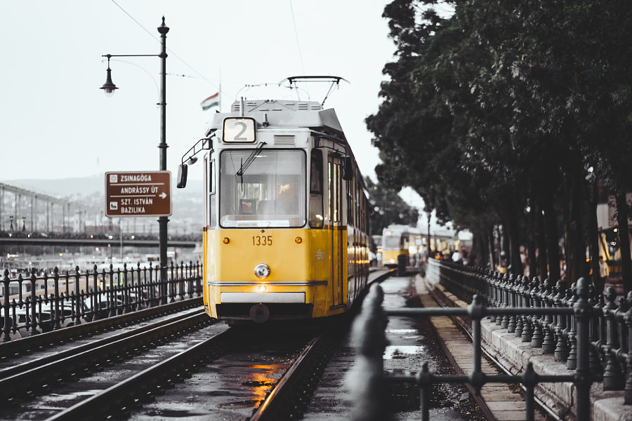 Tram in Budapest by Simon Alexander on 500px.com