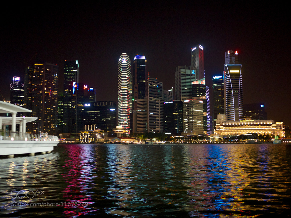 Photograph Singapore Financial District by Chris Madeley on 500px