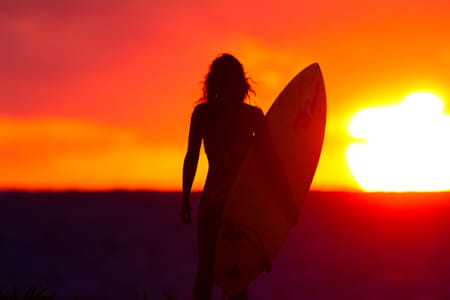 Surfer Girl Gone Dawn Patrol by The Stillery x Natta Summerky on 500px