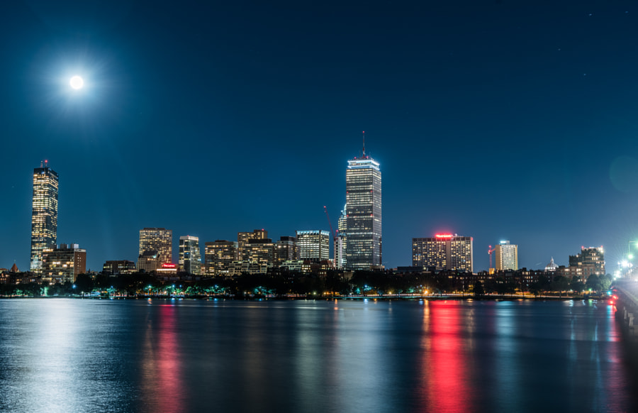 The Blue Moon Boston by Manjunath Chandrashekar on 500px.com