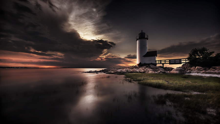 Annisquam Sunset by Edward Reese