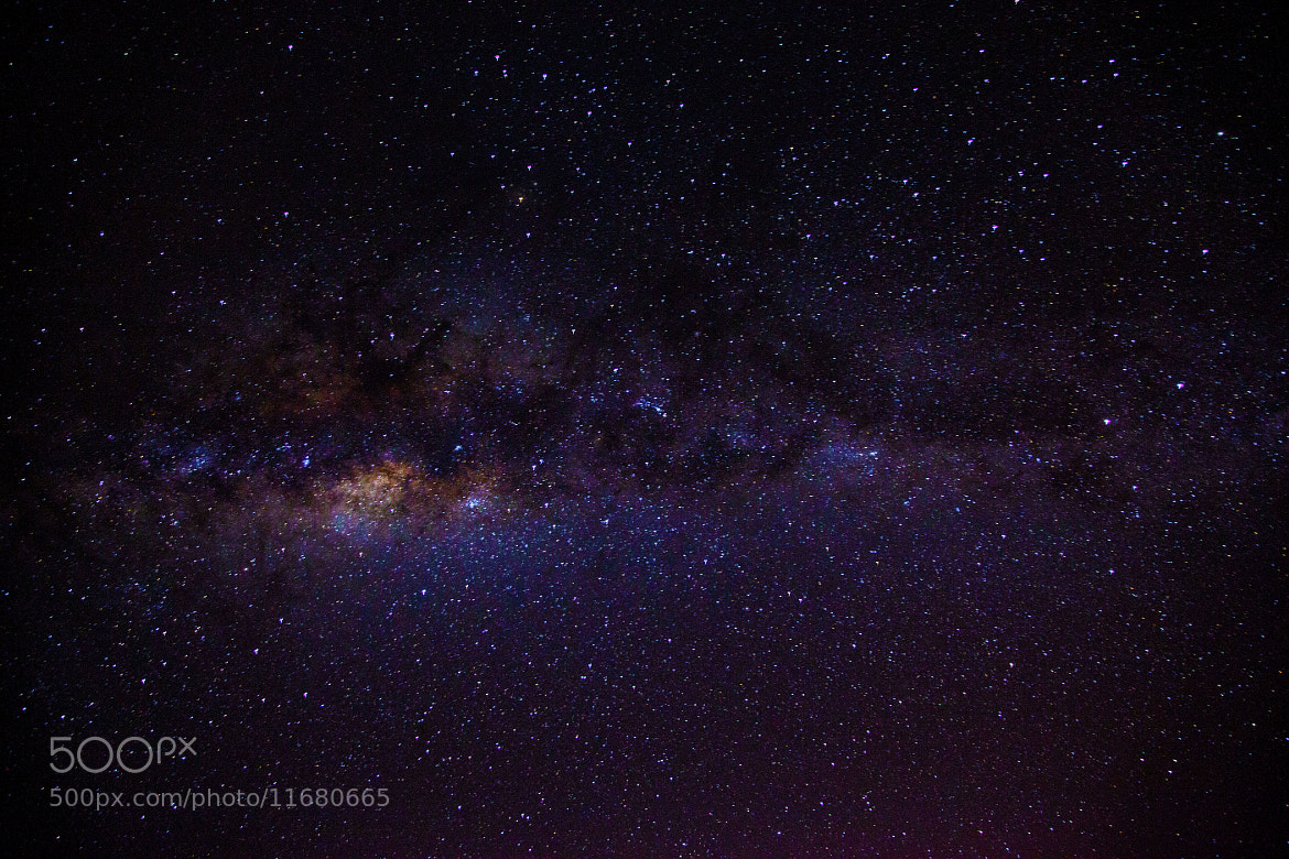 Photograph Milky Way by Andrew Lomas on 500px
