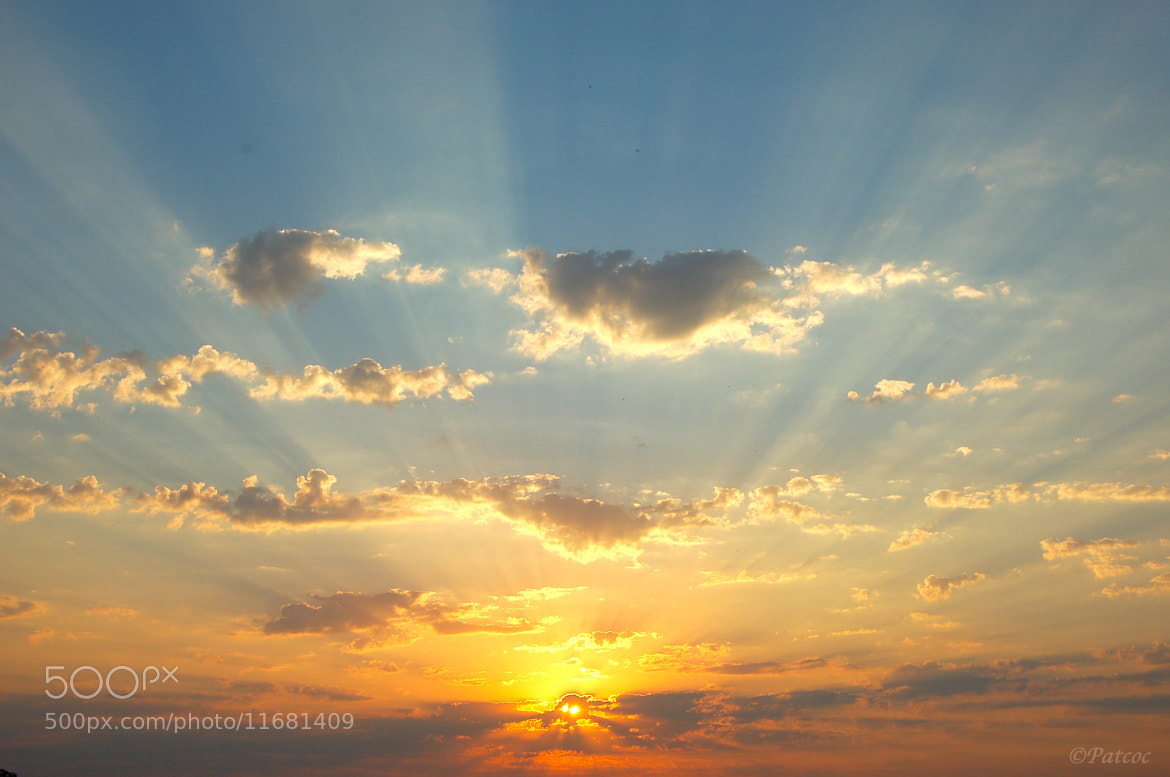 Photograph Pastel sun by Cocriamont Patrick on 500px