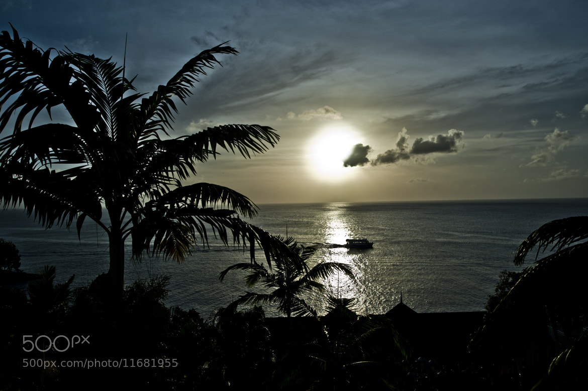 Photograph Sunset in St. Lucia by Bradley Clampitt on 500px