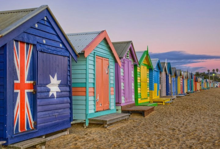 Photograph Colorful Cabanas by Becca Thompson on 500px