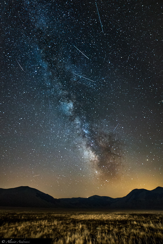 Photograph Perseid Meteors Shower 2012 by Alessio Andreani on 500px