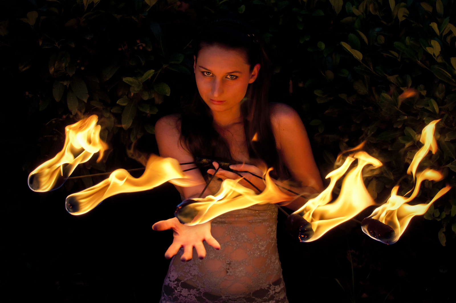 Photograph Playing with fire by Alluya Lillia on 500px