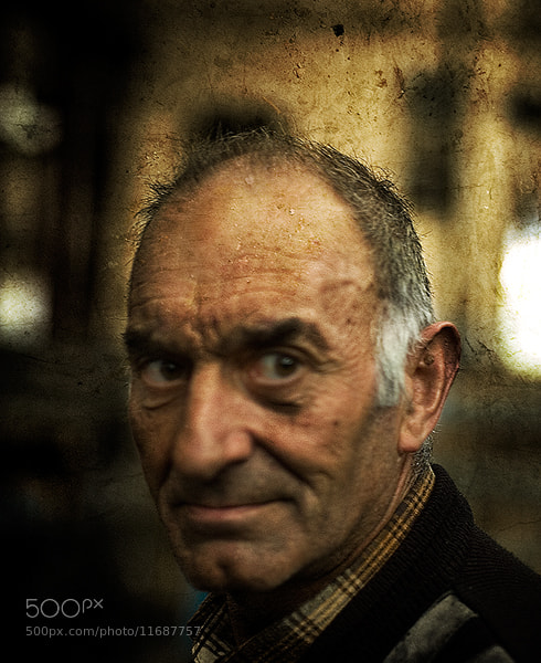 Photograph Oldman by Francisco Albino Gonzalez on 500px