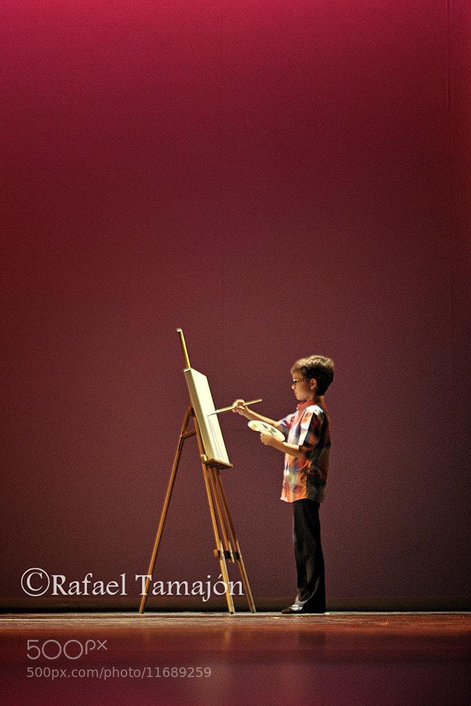 Photograph El pequeño pintor  by Rafael  Tamajón on 500px