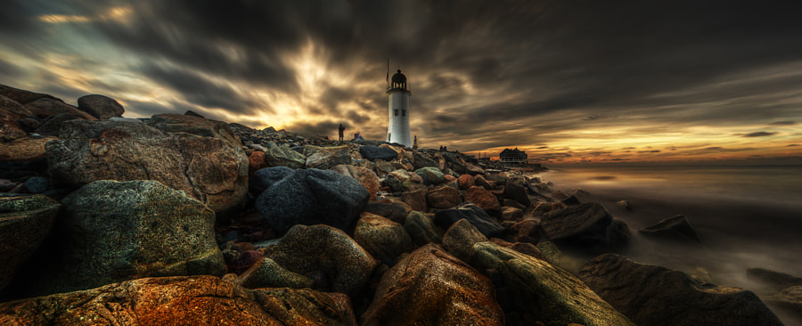 Sunrise at Scituate by Edward Reese