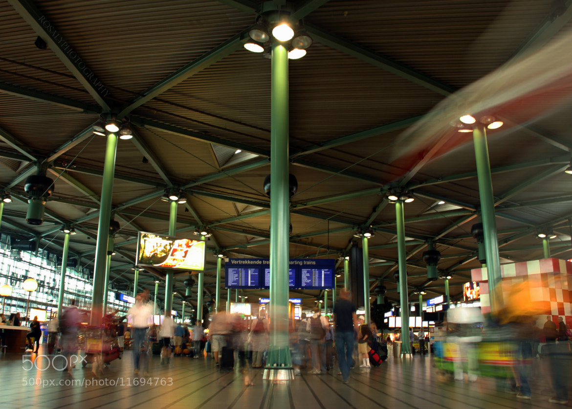 Photograph Amsterdam Schiphol Airport by Rosalie van der Does on 500px