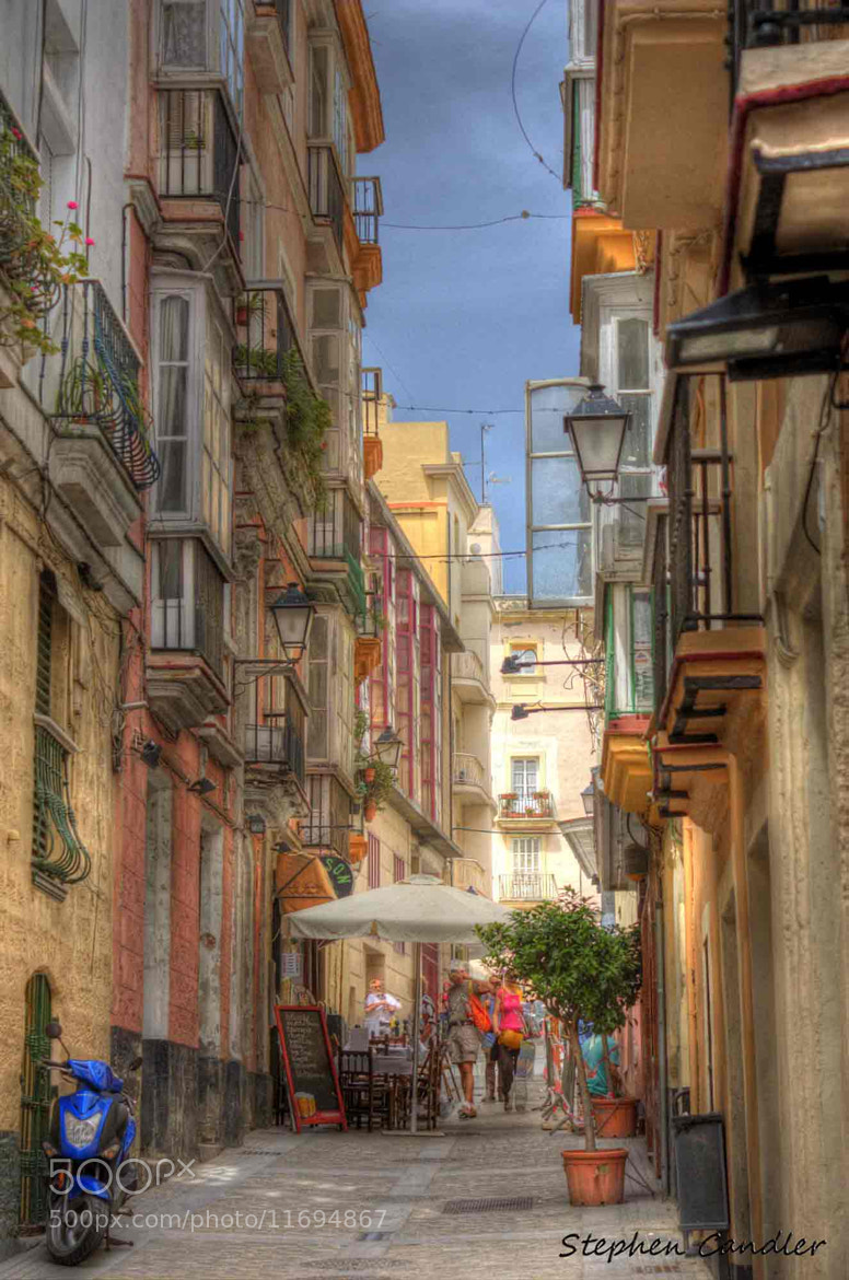 Photograph Streets Of Cadiz by Stephen Candler-Photography on 500px